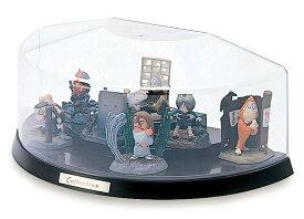 コレクションケース 卓上 フィギュアケース ミニカーケース ディスプレイケース 伊勢藤 ISETO H101台タイプ