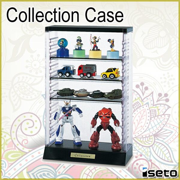 コレクションケース フィギュアケース ミニカーケース ディスプレイケース 伊勢藤 ISETO A403