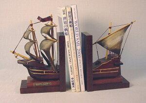 帆船模型式ブックエンド 完成品 No502 メイフラワー 新築祝 開業祝 お祝い 門出【楽ギフ_包装】【楽ギフ_のし】【楽ギフ_のし宛書】【楽ギフ_メッセ入力】