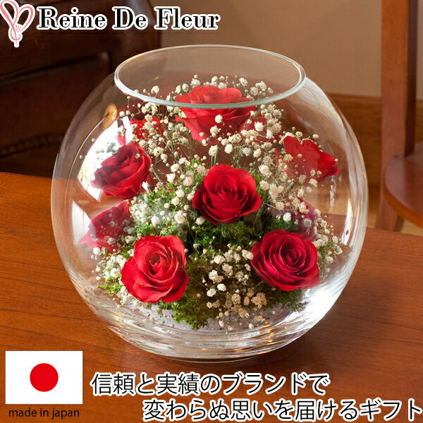 送料無料 ドライフラワー ボトルフラワー レンデフロール B-N 新築祝い 開業祝い 花ギフト 母の日 定年祝い