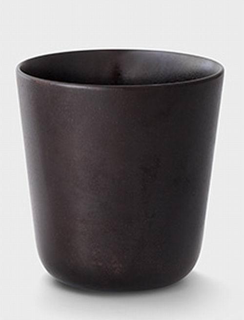 やわらかな口あたり URUSHI CUP(黒色漆塗) Oak Village/オークヴィレッジ