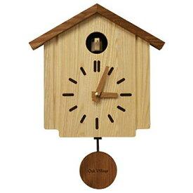 【かっこーのやさしい鳴き声の響きが時を告げます】 カッコークロック かっこう時計 森の巣箱 日本の森の木々を生かした全てが日本製です。 カッコー時計 木の時計 鳥の時計 美しい木目【送料無料 ※離島は400円、沖縄は500円の追加送料】【当店は正規取扱店です】