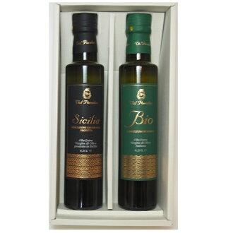 """ヴァルパラディ-ソ """"ビオ, Sicily"""" (250mlx2 book) [Sicily product]   Organic extra virgin olive oil"""