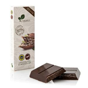 チョカッルーア モディカ チョコレート カカオ 90% (100g) [イタリア シチリア]   CIOKARRUA MODICA CHOCOLATE IGP バレンタイン