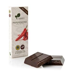チョカッルーア モディカ チョコレート とうがらし (100g) [イタリア シチリア] | CIOKARRUA MODICA CHOCOLATE IGP バレンタイン 唐辛子 ペペロンチーノ