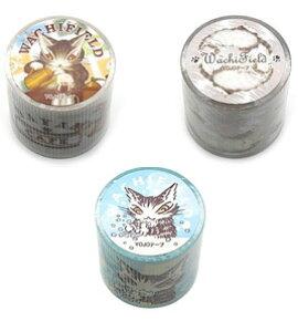 YOJOテープ(グルメ/ごろごろ/アテンション) | わちふぃーるど 猫のダヤン ダヤン ネコグッズ ステーショナリー 筆記具 文具 猫 ネコ ねこ