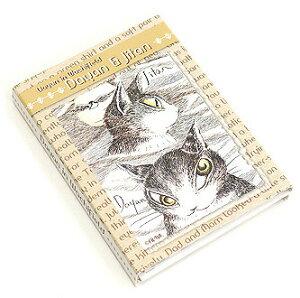 パタパタメモ 長編 | わちふぃーるど 猫のダヤン ダヤン ネコグッズ ステーショナリー 筆記具 文具 猫 ネコ ねこ