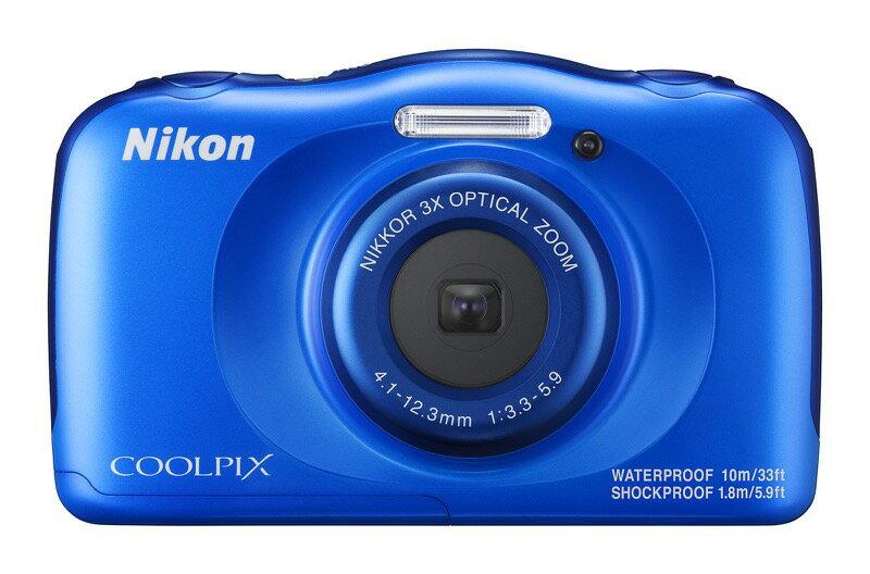 ニコン COOLPIX W100 ブルー