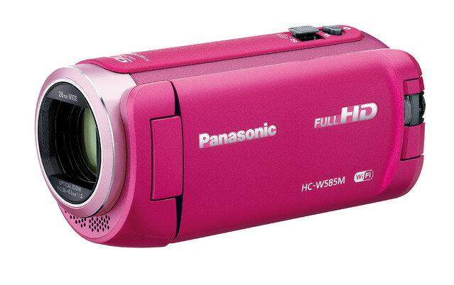 Panasonic デジタルハイビジョンビデオカメラ HC-W585M-P ピンク