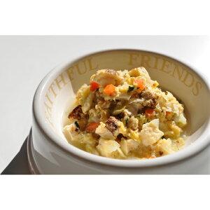 国産大豆の焼豆腐と山梨産平飼い卵の中華風スープ(ドッグフード)(大)プチかふぇごはんふふ 犬 国産 無添加 総合栄養食 ウェットフード 手作り トッピング シニア パピー