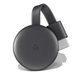 Google Chromecast グーグル クロームキャスト GA00439-JP チャコール 第三世代