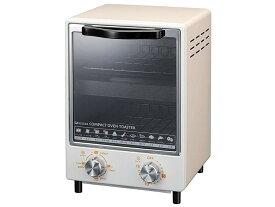コイズミ オーブントースター 縦型2段 1000W クリーム KOS-1014/C