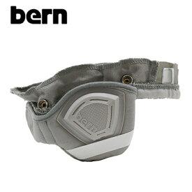 "【BERN】バーン/""HARD HAT PREMIUM LINER"" BE-PLWHGRY ハードハット プレミアム ライナー インナー 自転車用 ヘルメット クロスバイク マウテンバイク BMX スケートボード ストリート アウトドア 防寒 雑貨 (WHITE)"