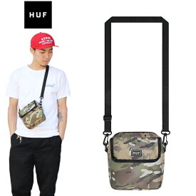 "【HUF】ハフ/""TOMPKINS SHOULDER PACK"" AC00188SP19 トンプキンス ショルダーバッグ ポーチ メンズ レディース バッグ (LODEN)"