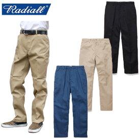 """【RADIALL】ラディアル / """"CVS WORK PANTS-STRAIGHT FIT"""" RAD-CVS-PT001 ワークパンツ チノパンツ チノパン T/Cツイル ストレート メンズ レディース ボトムス"""
