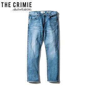 "【""THE"" SERIES COLLECTION】【CRIMIE】クライミー/""BORN FREE II STRETCH SELVEDGE CALIFORNIA USED SLIM STRAIGHT JEANS"" CRA1-BF2N-PT03 ボーンフリー2 ストレッチ カリフォルニア デニム パンツ メンズ レディース ボトムス (INDIGO)"