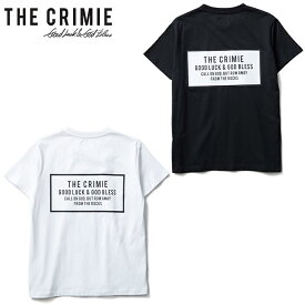 "【CRIMIE】クライミー/""BOX LOGO POCKET T SHIRT"" CR01-01K5-TS02 Tシャツ クルーネック プリント ボックスロゴ TEE 半袖 メンズ レディース カットソー"