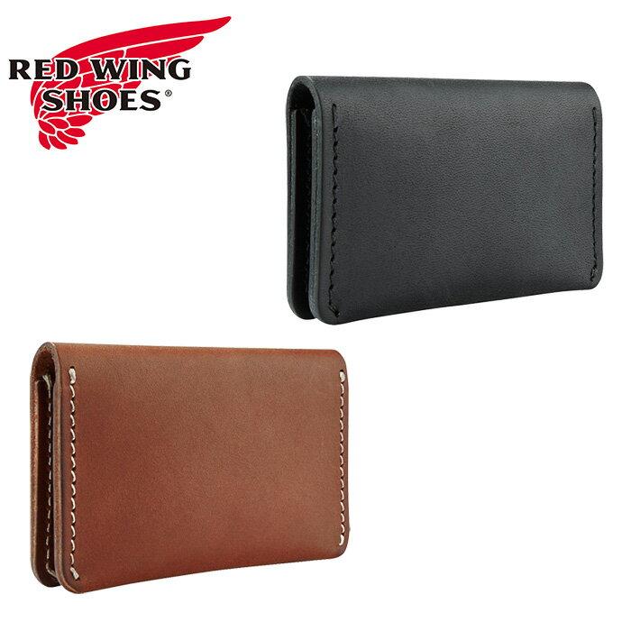 """【RED WING】レッドウイング/""""CARD HOLDER WALLET"""" 95021/95013 カードケース パスケース 名刺入れ 定期入れ 二つ折り 牛革 本革 メンズ レディース 財布"""