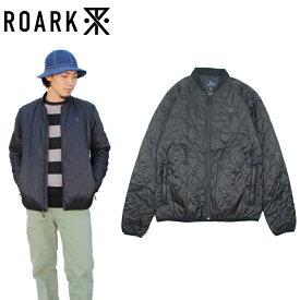 "【ROARK REVIVAL】ロアークリバイバル/""GREAT HEIGHTS"" RJ154 ナイロンジャケット キルティングジャケット キルト プリマロフト 長袖【メンズ】【レディース】【アウター】(BLACK)"