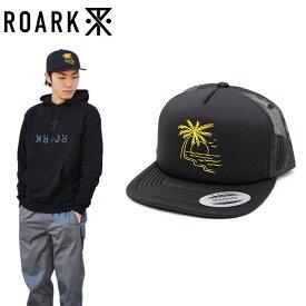 """【楽天SALE】10%OFF【セール】【ROARK REVIVAL】ロアークリバイバル/""""STAR CROSSED"""" RH357 スター クロスド メッシュキャップ スナップバックキャップ トラッカーキャップ プリント メンズ レディース 帽子 (BLACK)"""