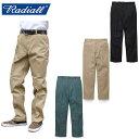 """【RADIALL】ラディアル / """"CVS WORK PANTS-STRAIGHT FIT"""" RAD-CVS-PT001 ワークパンツ チノパンツ チノパン T/Cツイル ストレート メン…"""