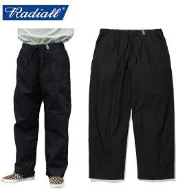 """【RADIALL】ラディアル/""""MONK - WIDE FIT EASY PANTS"""" RAD-19SS-PT002 モンク ワイド フィット イージーパンツ バギーパンツ メンズ レディース ボトムス (BLACK)"""