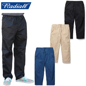 """【RADIALL】ラディアル/""""HUNTINGTON - WIDE FIT EASY PANTS"""" RAD-19SS-PT001 ハンティングトン ワイド フィット イージー パンツ メンズ レディース ボトムス"""