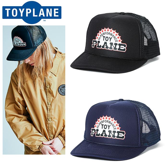 """【TOYPLANE】トイプレーン/""""TRICK STAR MESH CAP"""" TP17-FCP03 トリックスター メッシュキャップ スナップバックキャップ トラッカーキャップ メンズ レディース 帽子"""