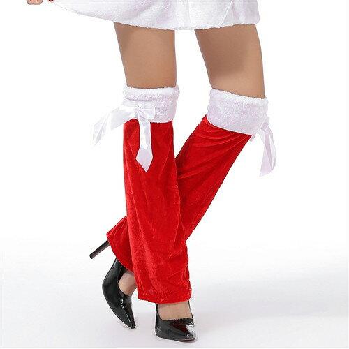 サンタ衣装 コスプレ クリスマス衣装 クリスマスイベントの必需アイテム クリスマス サンタのレッグウォーマ キャバクラ ラウンジ
