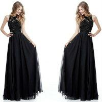 大きなサイズ(XLサイズ)ロングドレスキャバドレスドレスエレガントなシフォンレース重ね背中魅せデザインロングドレス大きいサイズ