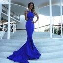 大きなサイズ(Xサイズ)ワンランンク上のハイクオリティドレス ロングドレス キャバドレス キャバワンピ エレガントな欧米スタイルデザイン sexyな背中魅せデザイン マーメイドロングドレス