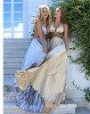 ロングドレス キャバドレス キャバワンピ エレガントでゴージャスなプリーツデザイン セクシーフロント魅せデザインロングドレス 欧米デザインロングドレス フォーマルドレス