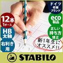 スタビロ ( Stabilo ) イージー グラフ 鉛筆 ( EASY graph )えんぴつ 太軸 HB / 1ダース(12本入り) 右手用【RCP】.