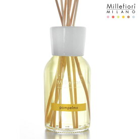 Millefiori ( ミッレフィオーリ ) フレグランス リード ディフューザー ( L ) 【 Natural 】/ グレープフルーツ Pompelmo 【 正規販売店 】