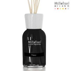 Millefiori ( ミッレフィオーリ ) フレグランス リード ディフューザー ( L ) 【 Natural 】/ ネロ Nero 【 正規販売店 】