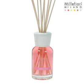 Millefiori ( ミッレフィオーリ ) フレグランス リード ディフューザー ( S ) 【 Natural 】/ ジャスミン イラン Jasmine Ylang 【 正規販売店 】