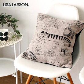 リサ ラーソン LISA LARSON クッション カバー 45 × 45cm / スケッチキャット ( 中綿なし )