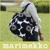 marimekkoJAPANHuvitus/ジャパンフヴィトゥストートバッグ/ブラック