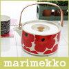marimekko(マリメッコ)UNIKKOTeapot(ウニッコティーポット)/レッド【楽ギフ_包装】【楽ギフ_のし】.