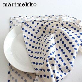 マリメッコ ティンカ キッチンタオル ティータオル 1枚 / ホワイト×ブルー marimekko Tinka Tea towel 1pc 【 正規販売店 】