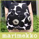 マリメッコ ( marimekko ) ウニッコ リュック/ Pieni Unikko NIPPU / ブラック×ホワイト 【smtb-ms】【RCP】.