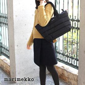 マリメッコ ( marimekko ) トートバッグ Milla / ブラック 【 ラッピング・のし不可 】 【 正規販売店 】【あす楽】