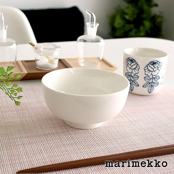 マリメッコ ( marimekko ) ボウル Oiva bowl 300ml ご飯茶碗 / ホワイト .
