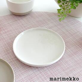 マリメッコ ( marimekko ) OIVA PLATE オイヴァ ミニ プレート φ13.5cm / ホワイト 【 正規販売店 】