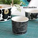 マリメッコ ( marimekko ) マグカップ 200ml (取手なし) ラテマグ SIIRTOLAPUUTARHA COFFEE CUP ( シイルトラプータルハ コーヒー カップ )ドット柄 【 正規販売店 】