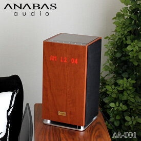 CDプレーヤー ANABAS audio アナバス オーディオ CDクロックラジオシステム AA-001 【 正規販売店 】