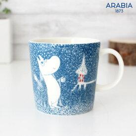 アラビア ( ARABIA ) ムーミン ( MOOMIN ) 2018 冬季限定 winter マグ / Light Snowfall 【 正規販売店 】