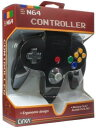 (N64)N64 CONTROLLER(BLACK)(Cirka製)(任天堂64互換コントローラ)(北米版)(ネコポス発送不可)(新品)(あす楽対応)