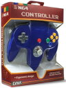 (N64)N64 CONTROLLER(BLUE)(Cirka製)(任天堂64互換コントローラ)(北米版)(ネコポス発送不可)(新品)(あす楽対応)