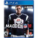(ネコポス送料無料)(PS4)Madden NFL 18(北米版)(2017年8月25日現地発売予定)(新品)